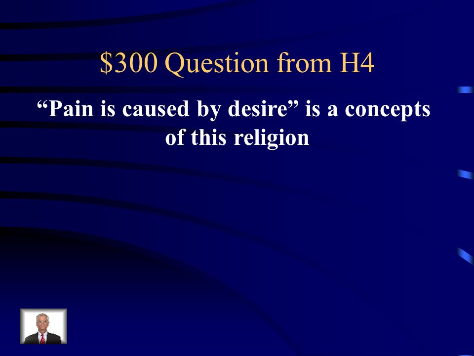 $200 Answer from H4 10 Commandments