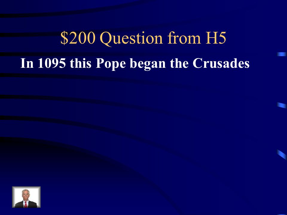 $100 Answer from H5 King John I