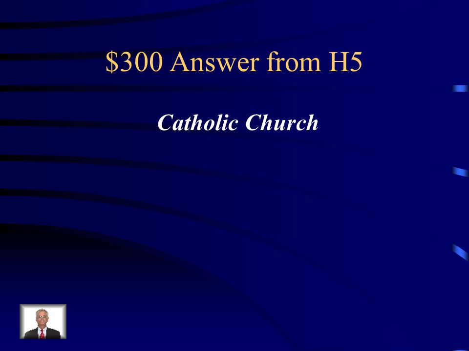 $300 Question from H5 During the Middle Ages this was the strongest civilizing force