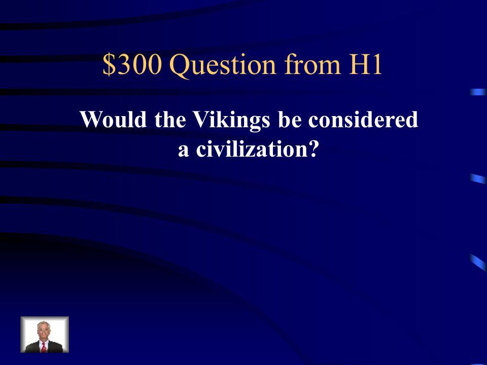 $200 Answer from H1 Hammurabi's Code