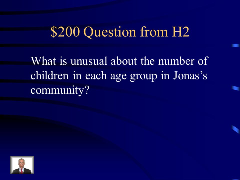 $100 Answer from H2 A family unit consists of a mother, father, son and a daughter.