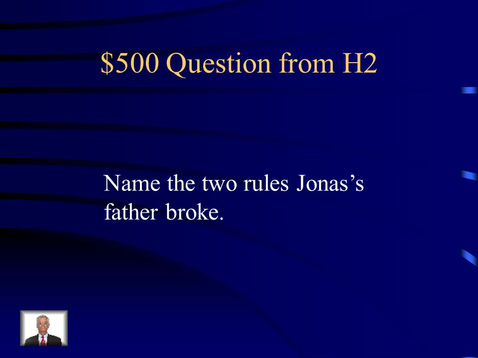 $400 Answer from H2 The elders carefully observed the students during their observation hours and matched their job to their interests, talents, and skill.