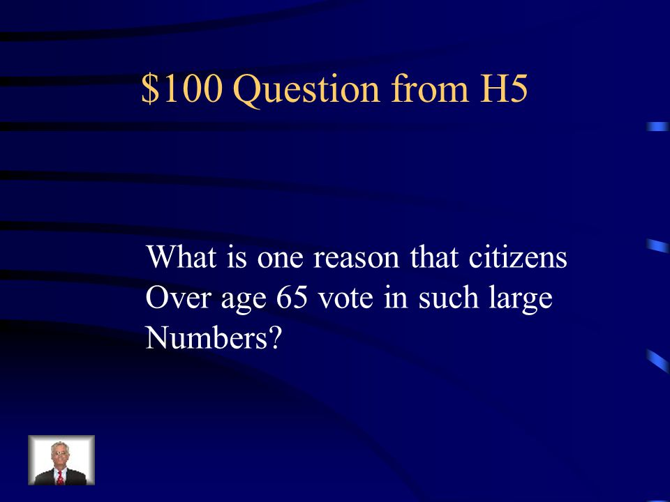 $500 Answer from H4 An increase in prominence in world affairs; the New Deal expanded the Responsibility of the Federal Government; the president's increased Visibility via the media.