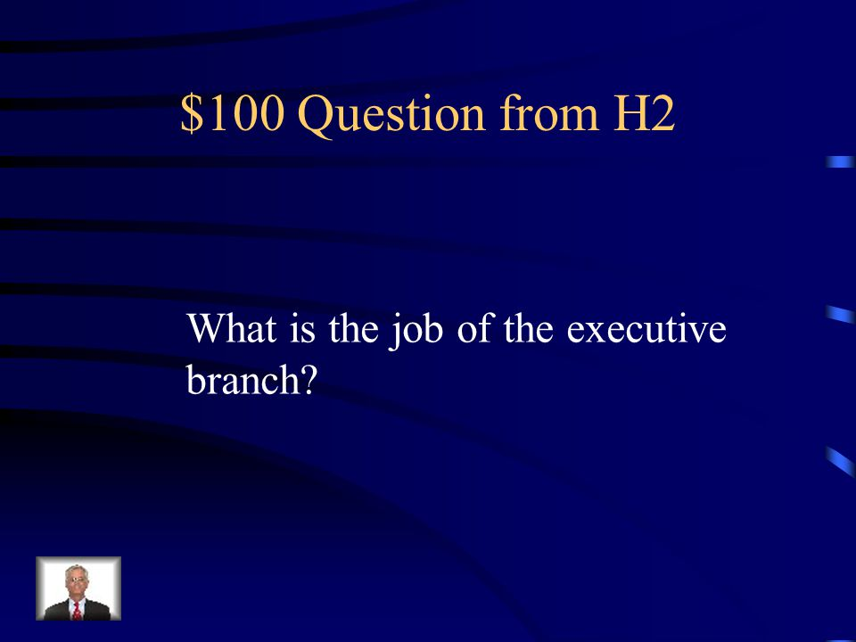 $500 Answer from H1 Section Eight