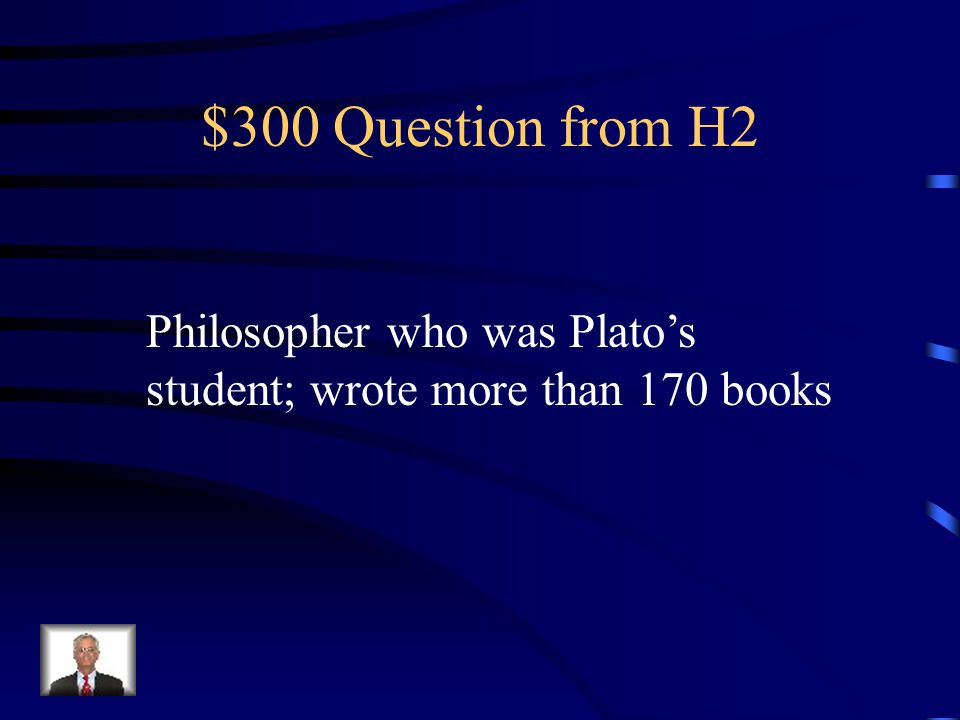 $200 Answer from H2 Plato