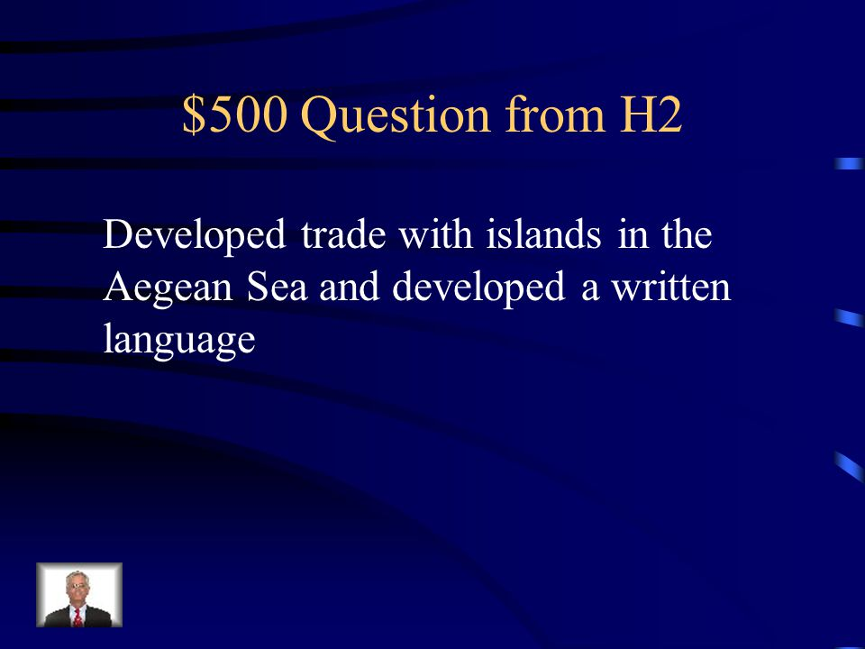 $400 Answer from H2 Democracy