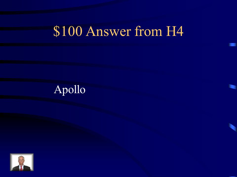 $100 Question from H4 God of truth, intelligence, music, and poetry