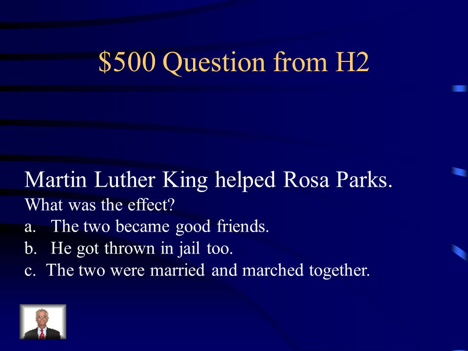 $400 Answer from H2 B.It deepened his understanding of nonviolent protests.