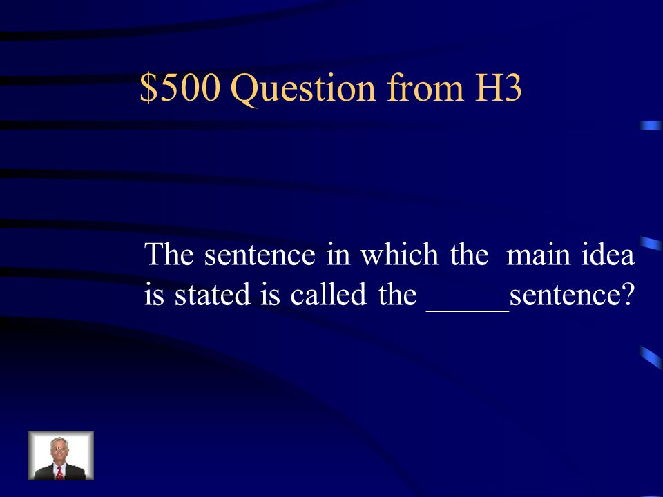 $400 Answer from H3 Summarizing