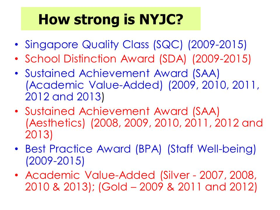 How strong is NYJC.