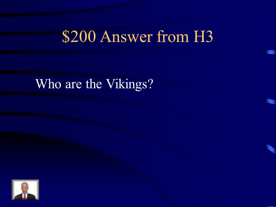 $200 Question from H3 Fearsome Scandinavian sailors who raided Western Europe following the death of Charlemagne, but eventually accepted Christianity