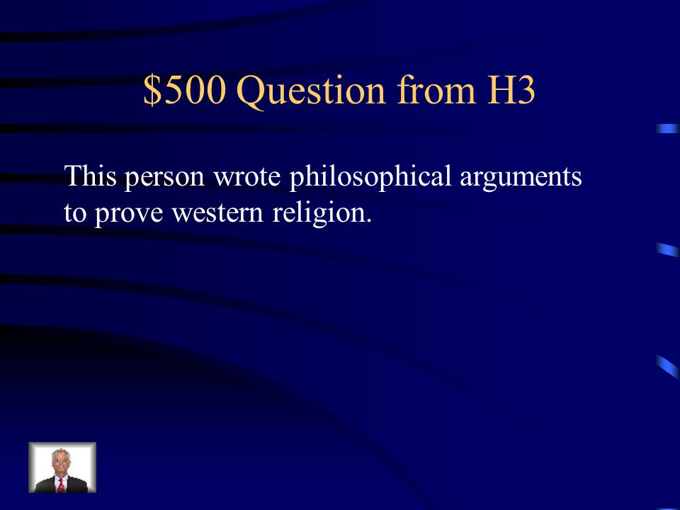 $400 Answer from H3 What is excommunication?