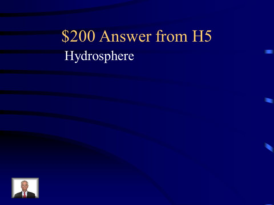 $200 Question from H5 Earth system involved when carbon dioxide dissolves in water producing carbonic acid.