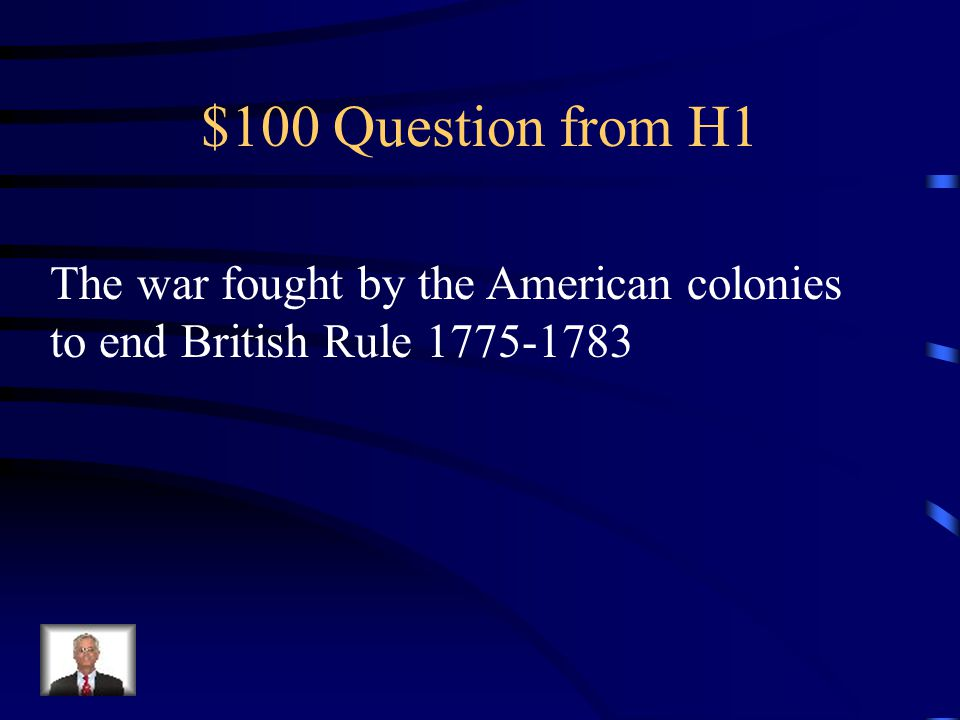 Final Jeopardy Groups of colonists who organized themselves to protest against the British government.