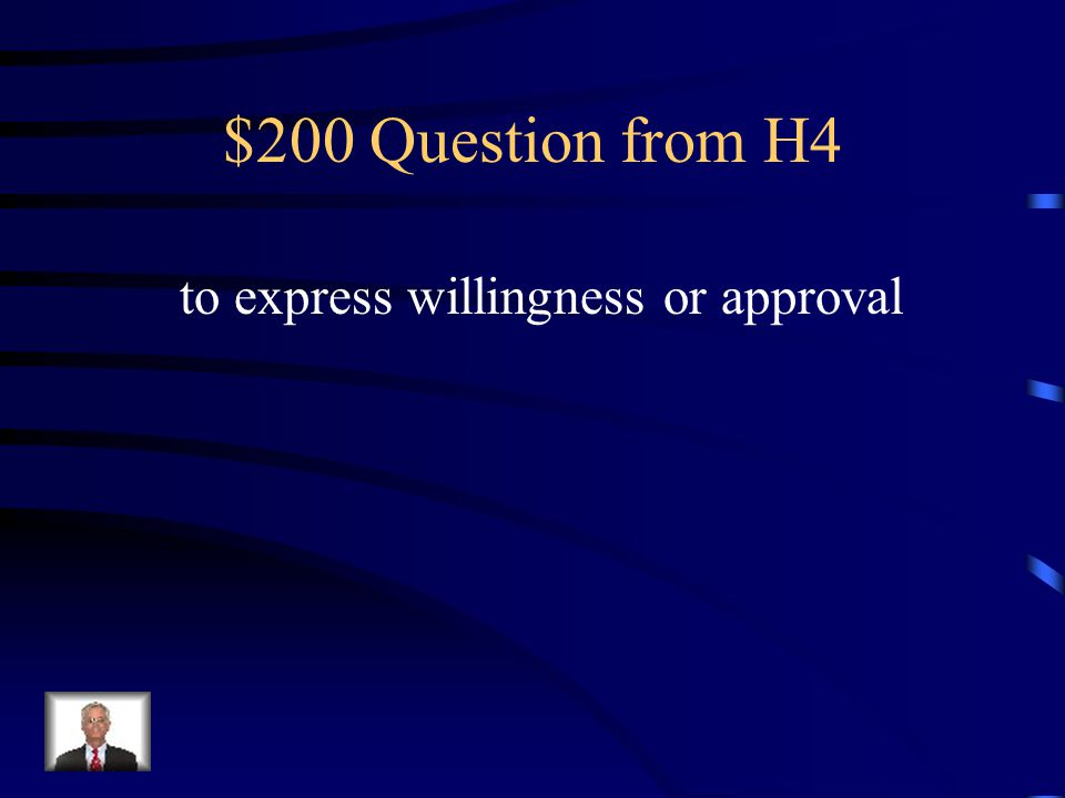 $100 Answer from H4 What is ally?
