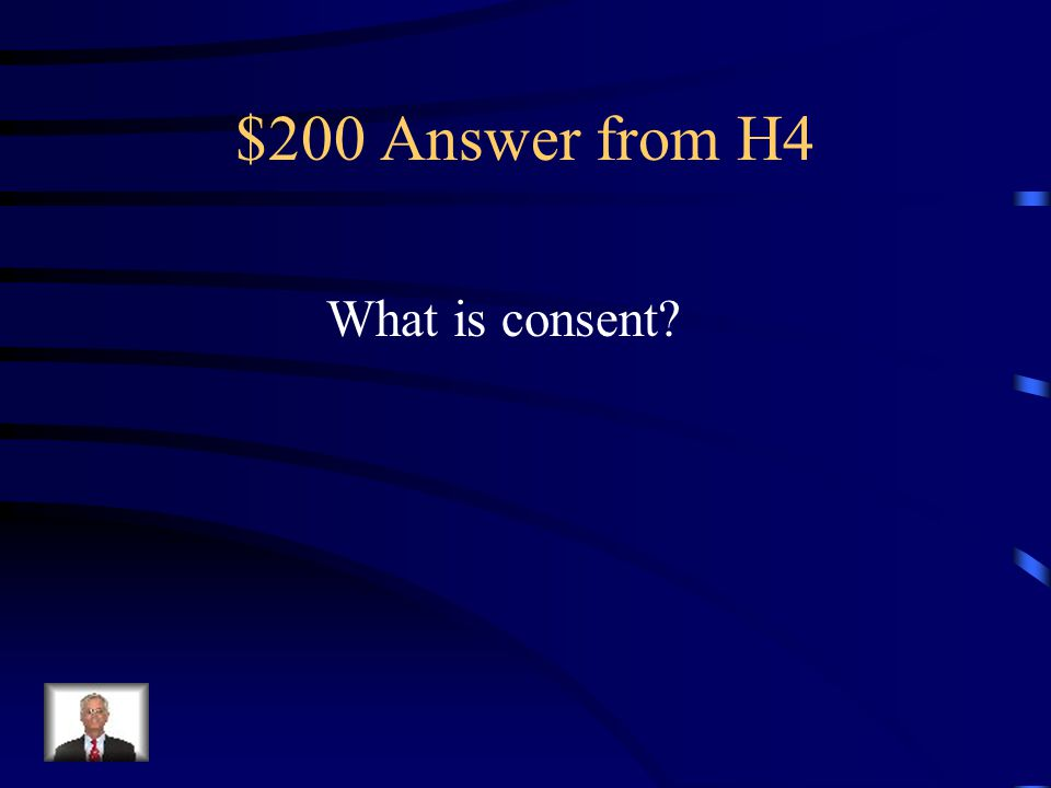 $200 Question from H4 to express willingness or approval