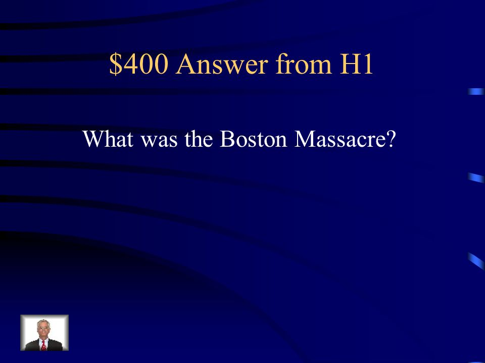 $400 Answer from H2 Who is John Adams?
