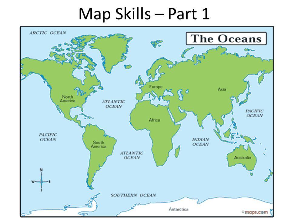 Map Skills – Part 1