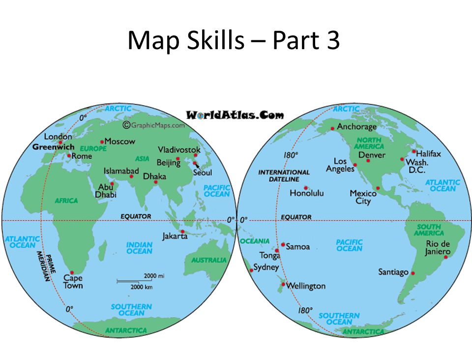 Map Skills – Part 3