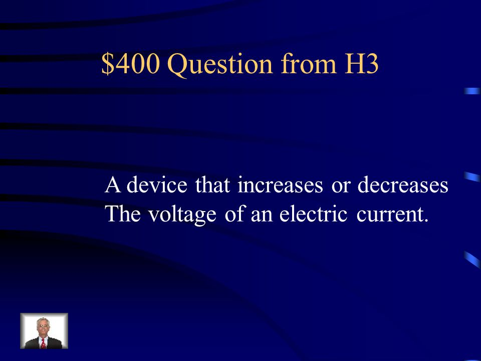 $300 Answer from H3 Temperature