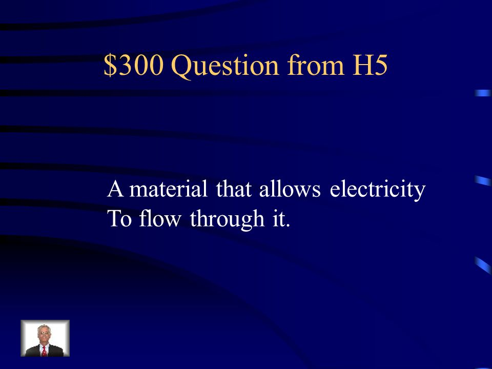 $200 Answer from H5 Energy