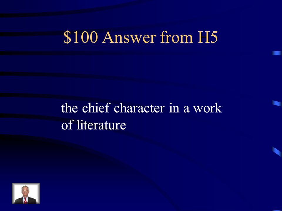 $100 Question from H5 protagonist