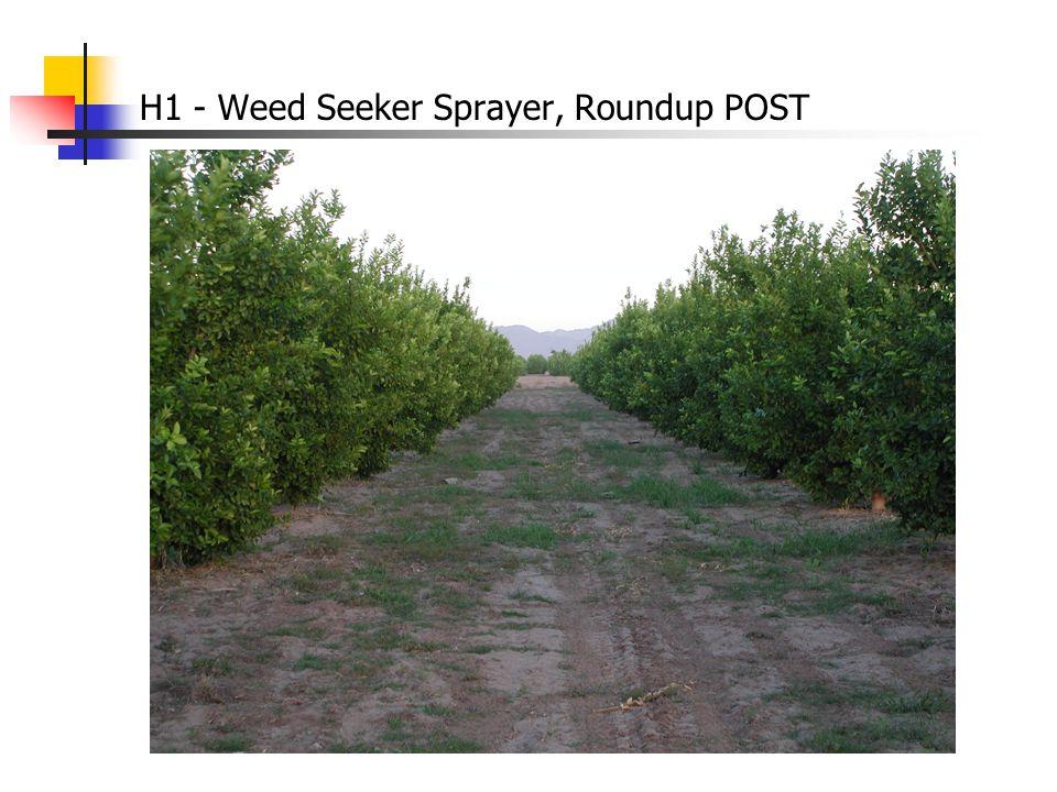 H1 - Weed Seeker Sprayer, Roundup POST