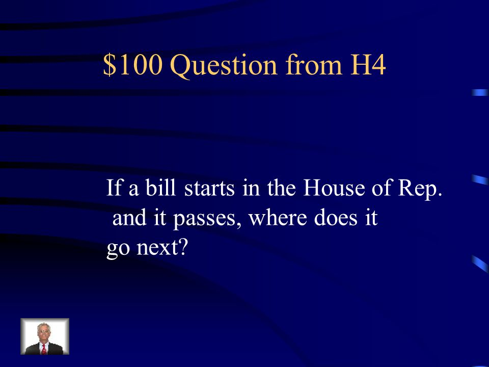 $500 Answer from H3 1818