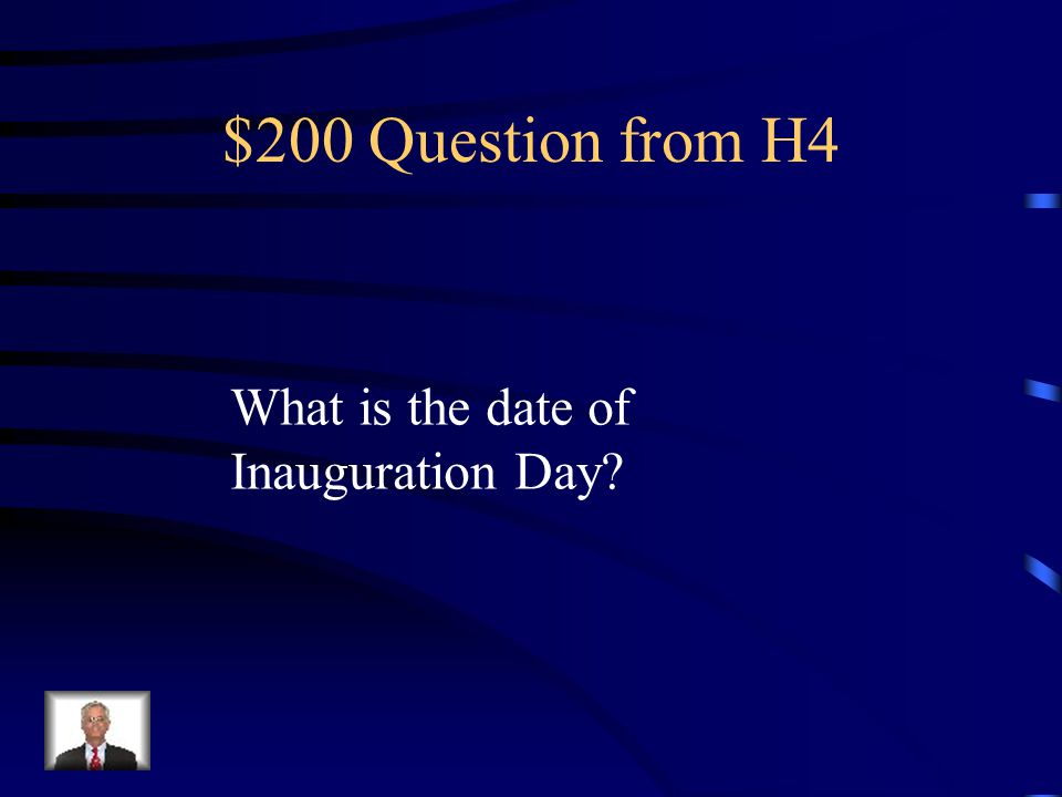 $100 Answer from H4 It goes to the Senate