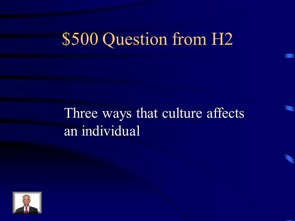 $400 Answer from H2 Projection