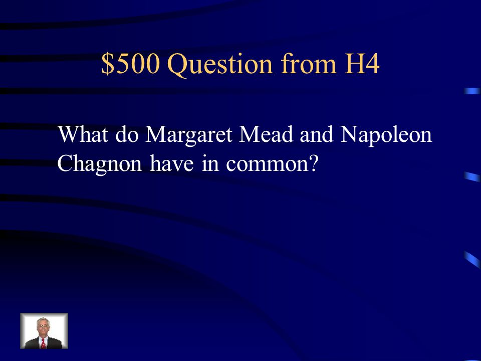 $400 Answer from H4 Alfred Adler
