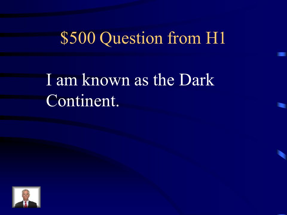 $400 Answer from H1 What is South America