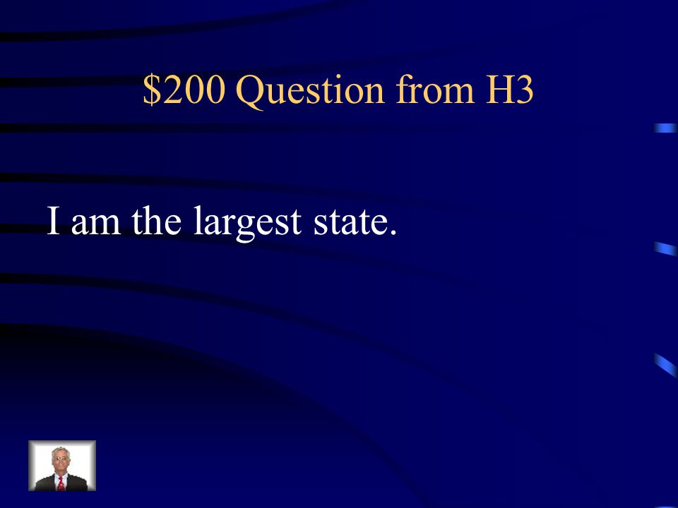 $100 Answer from H3 What is Rhode Island?