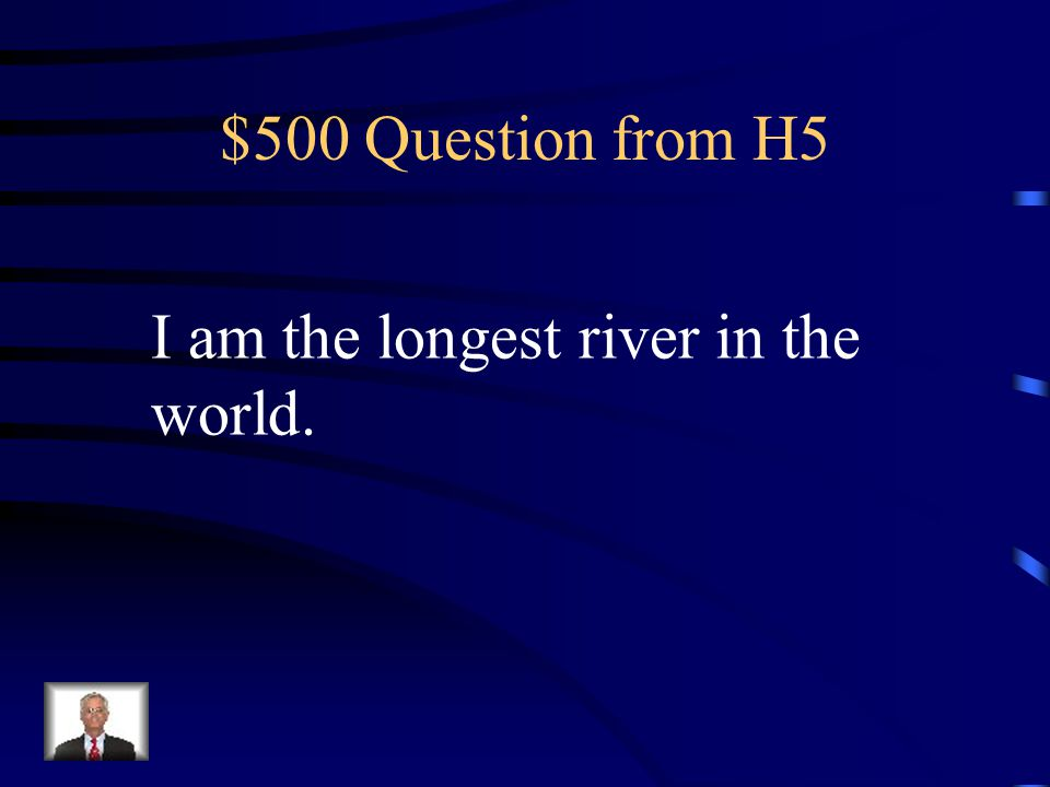 $400 Answer from H5 What is Mt. McKinley?