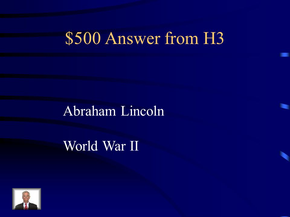 $500 Question from H3 Because of the Pilgrims we celebrate the holiday Thanksgiving.