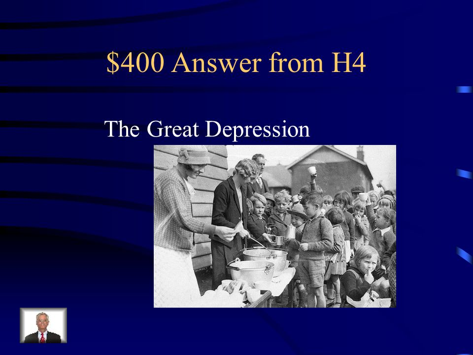 $400 Question from H4 The period between 1929 and 1941, when unemployment rose to record high of 25% of the workforce, bank failures increased, and business bankruptcies occurred every month.