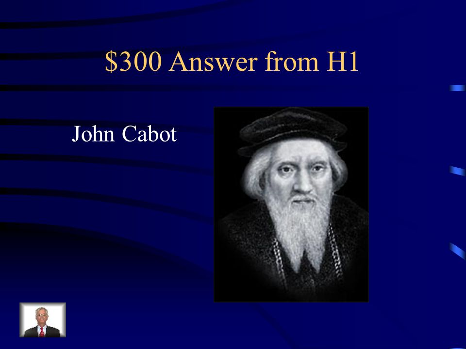 $300 Answer from H3 Squanto