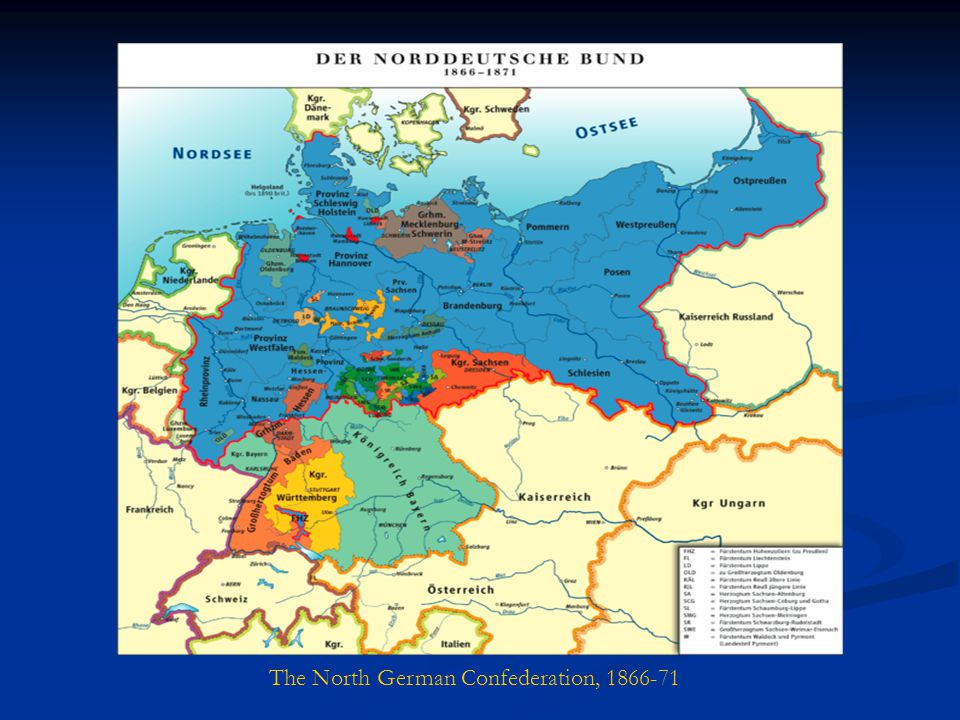 The North German Confederation, 1866-71