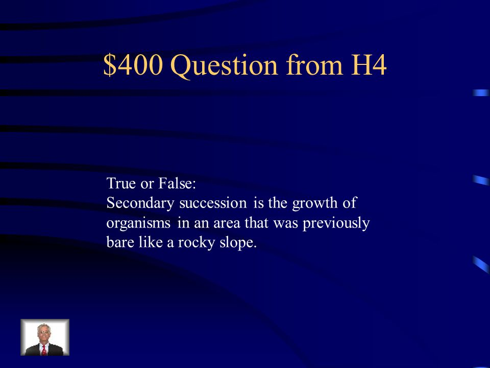 $300 Answer from H4 Secondary
