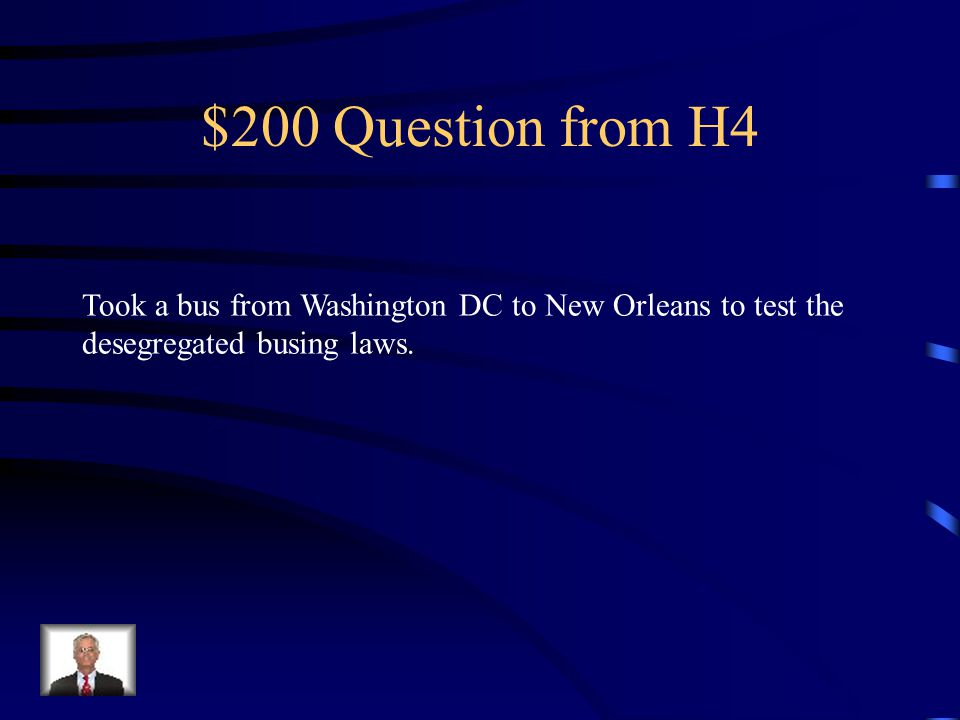 $100 Answer from H4 Who is Malcolm X