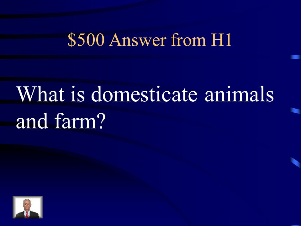 $500 Question from H1 After homo sapiens learn to do this humans progressed from the Paleolithic Age to the Neolithic Age.