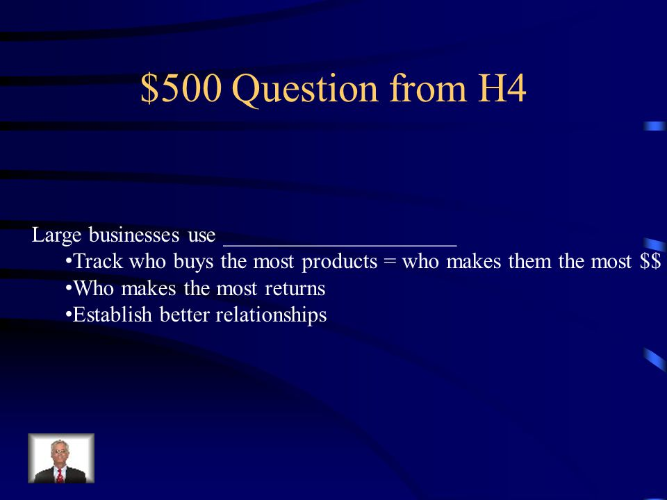 $400 Answer from H4 Money or $