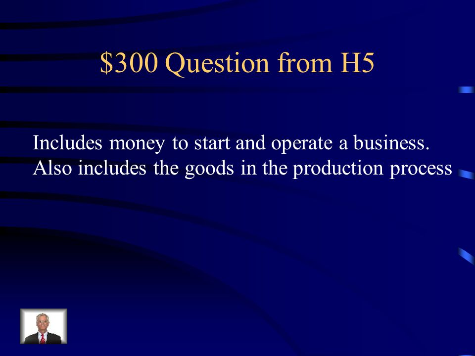 $200 Answer from H5 Labor