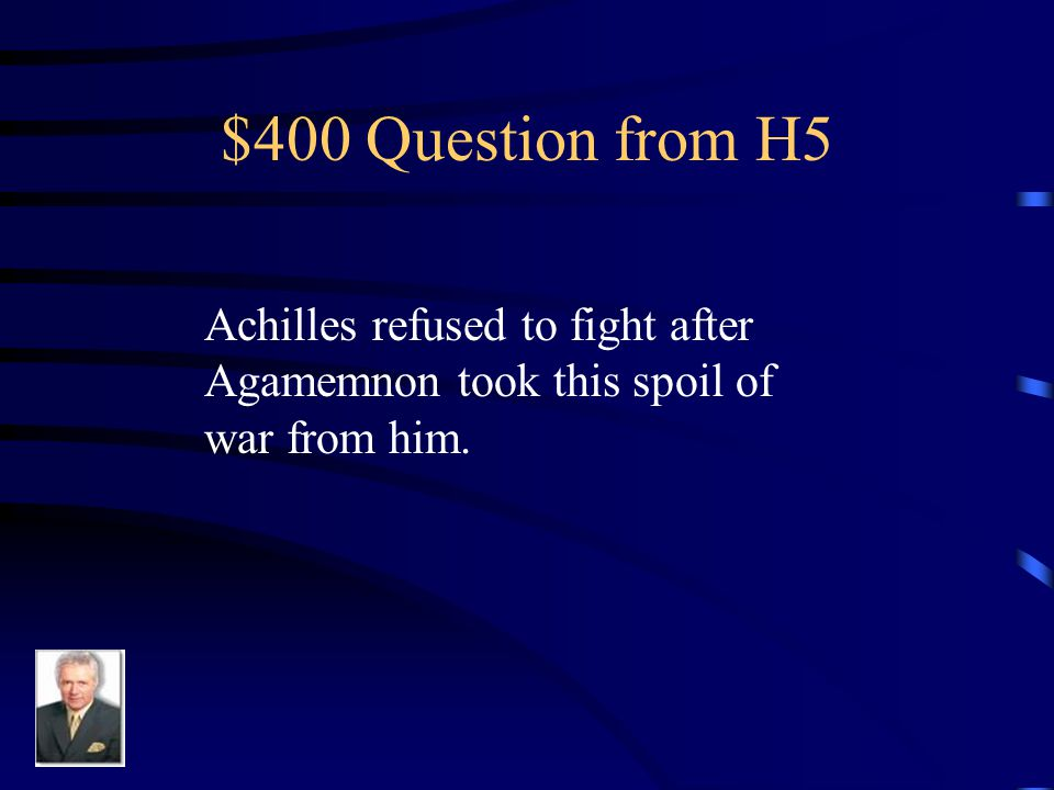 $300 Answer from H5 Chryseis
