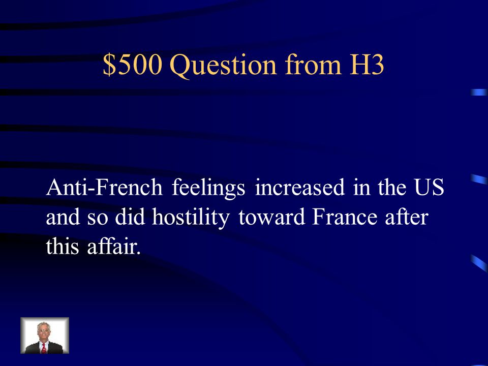 $400 Answer from H3 He felt that loyal opposition was not an aspect of free government, and it considered it destabilizing.