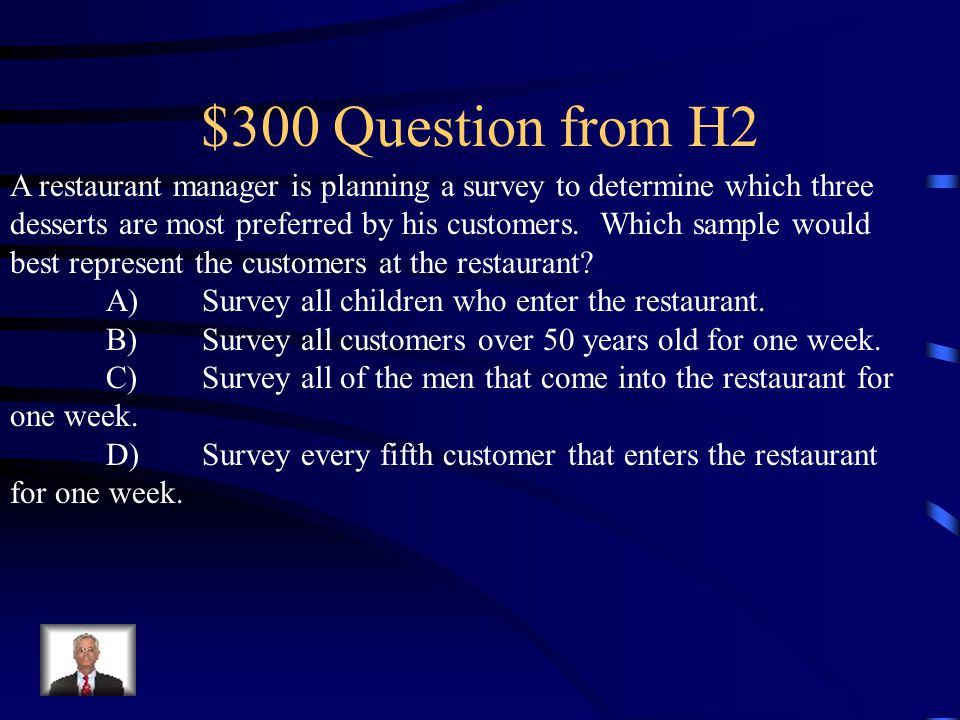 $200 Answer from H2 What is 3/5 or 60%.