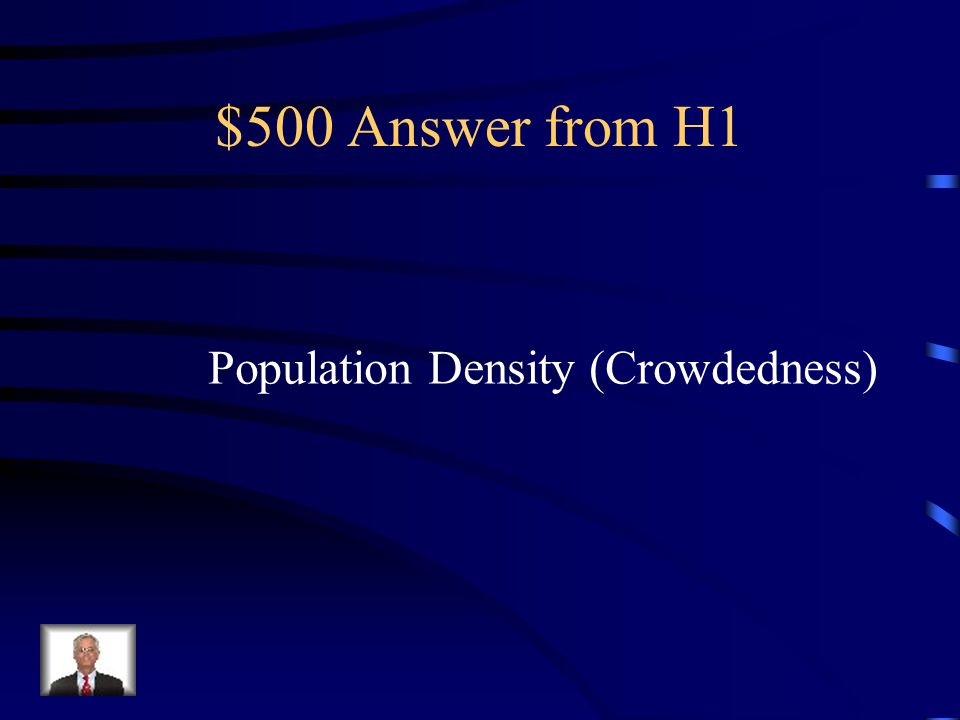 $500 Question from H1 The video Chinese Subway illustrated what vocabulary term