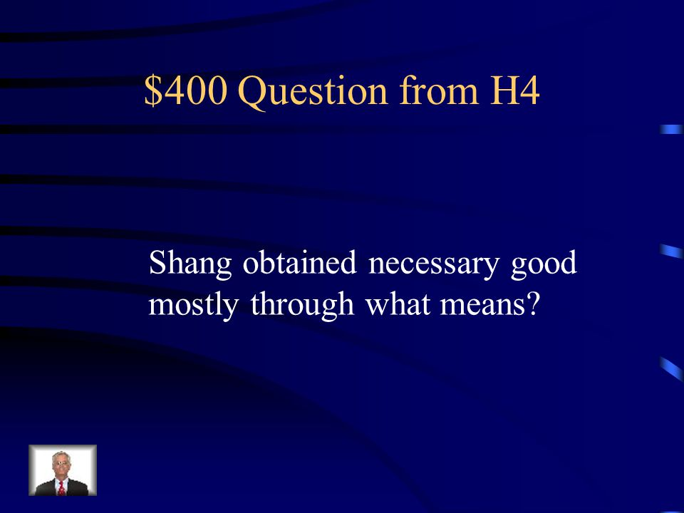 $300 Answer from H4 Grain Farmers