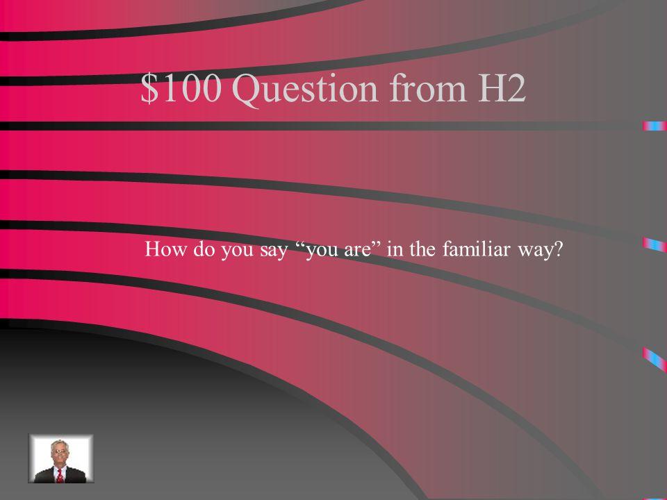 $500 Answer from H1 Pasar Un rato con los amigos