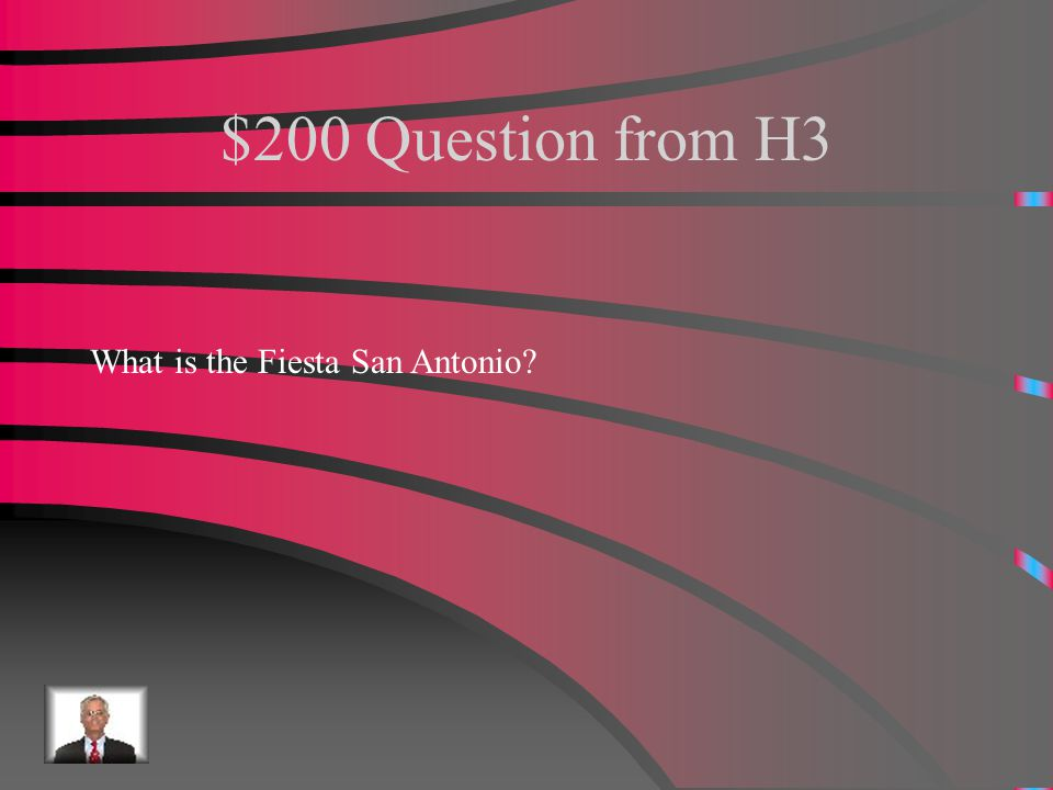 $100 Answer from H3 Hispanic heritage month.